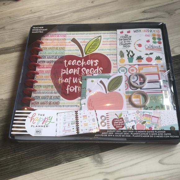 Happy Planner Teacher Kit NWT